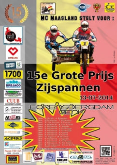 GP GENK 12 & 13 Juli 2014 Afgelast/Cancelled!!