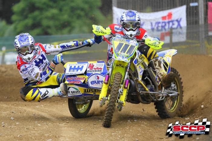Willemsen/Beunk missen nipt het podium in de Belgische Grand Prix