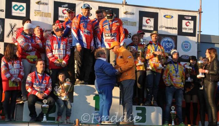 Willemsen/Beunk winnen met Team Nederland de sidecarcross of nations