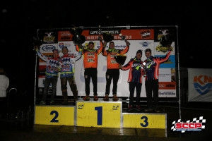 Willemsen/Bax beginnen het ONK Zijspancross in Lochem met 2e plaats