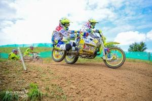 Willemsen/Bax scoren goed met podiumplaats in Grand Prix zijspancross